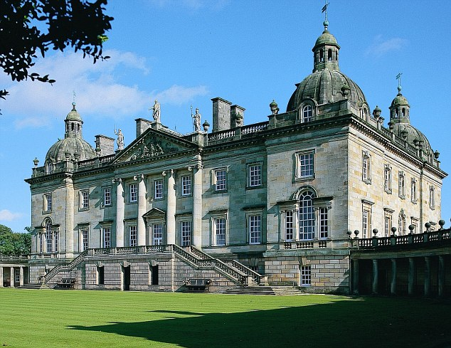 Houghton Hall, Exterior View Houghton Hall, Norfolk Courtesy: Ho