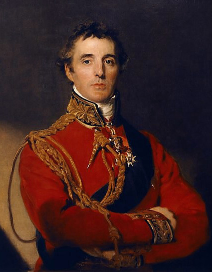 "APSLEY HOUSE, London. "" Arthur Wellesley, First Duke of Wellington "" portrait by Sir Thomas Lawrence (1769-1830)."