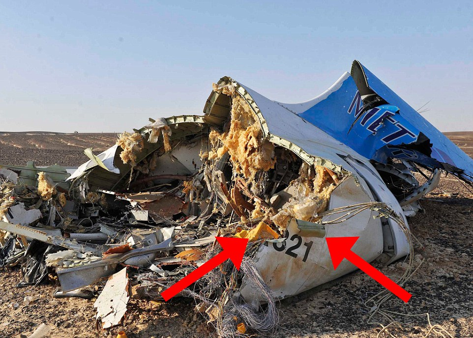 EGYPT RUSSIAN PLANE CRASH