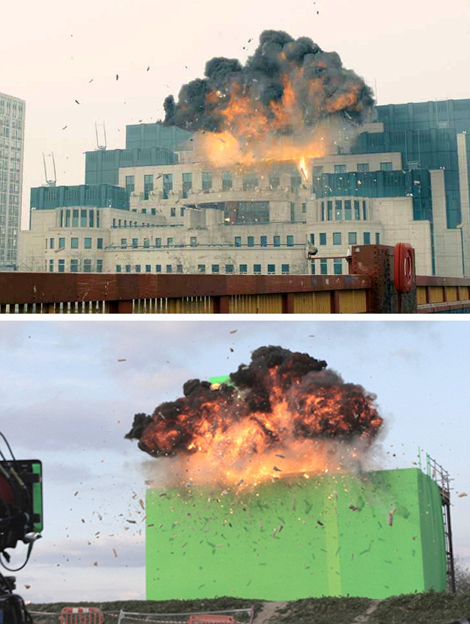 SPECIAL EFFECTS MAN BEHIND JAMES BOND