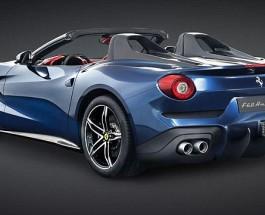 В Калифорнии состоялась премьера нового Феррари F60.