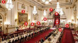 Президент Трамп и сокровища бального зала Букингемского дворца.