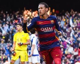 Самые высокооплачиваемые футболисты мира. Неймар Барселона Испания.