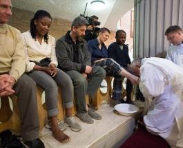 Папа Римский отслужил мессу в память о Страстной пятнице.