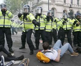 Беспорядки в Лондоне. Британцы против итогов выборов в парламент Великобритании.