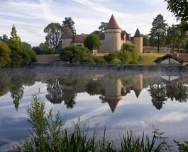 Замок 11-го века превратился в роскошный отель.