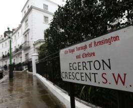 10 самых дорогих улиц  в Лондоне в 2015 году.