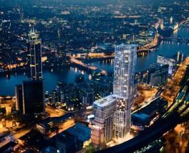 Самый роскошный небоскреб в Лондоне.