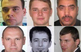 Самые разыскиваемые преступники в Великобритании.