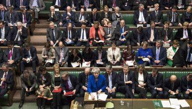 Голосование в парламенте. Тереза Мэй остается во главе правительства.