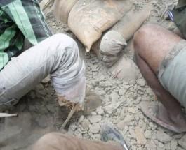 Землетрясение в Непале. Трое суток спустя.