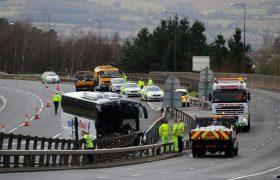Авария на трассе М4. 28 человек доставлены в госпиталь.