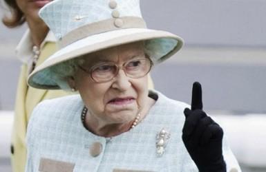 Сионисты против королевы Великобритании.