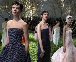 Весна высокой моды в Париже.