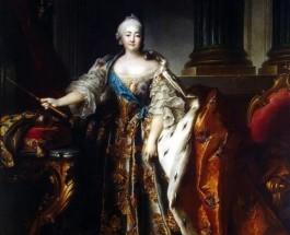 Как девица Елизавета спасла Россию от немцев.