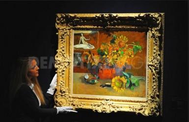 Christie's и Sotheby's летние торги в Лондоне.