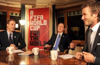 Герцог Уильям организует футбольный матч в Букингемском дворце