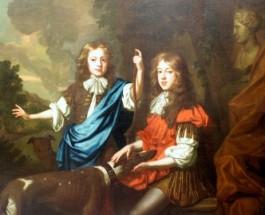 Антиквариат. В Англии обнаружен дом с мебелью 17 века.