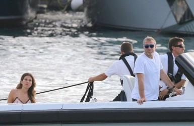 Абрамович и Дарья отдыхали на острове S. Barts.