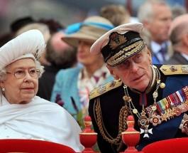 65 летняя годовщина свадьбы королевы Елизаветы II и принца Филиппа, герцога Эдинбургского.