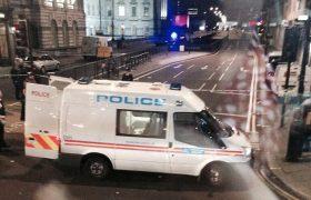 Инцидент со стрельбой на одном из мостов Лондона.
