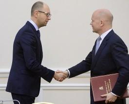 События на Украине. Министр иностранных дел Великобритании в Киеве. Видео.