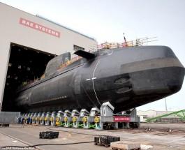 Новейшие подводные лодки Великобритании.