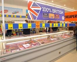 Магазины Великобритании, война цен в самом разгаре.