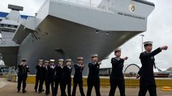 Новая база Королевских ВМС в Персидском заливе.