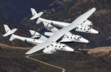 Космический корабль SpaceShipTwo разбился в Калифорнии.