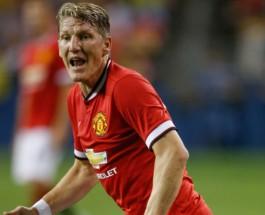 Самые высокооплачиваемые футболисты мира. Бастиан Швайнштайгер из Манчестер Юнайтед.