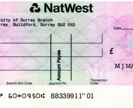 В 2014 году банки Великобритании будут принимать к оплате копии чеков.