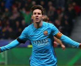 Самые высокооплачиваемые футболисты мира. Лионель Месси Барселона Испания.