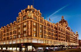 Воры профессионалы в Лондоне выбирают универмаг для богатых Harrods.