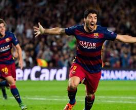 Самые высокооплачиваемые футболисты мира. Луис Суарес Барселона Испания.
