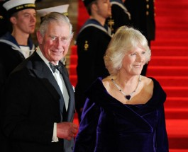 Принц Чарьз и 23-й Джеймс Бонд в Лондоне.