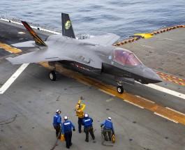 F- 35B на авиашоу в Великобритании не сможет взлететь.