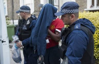 Бандиты устроили разборки в южном Лондоне.