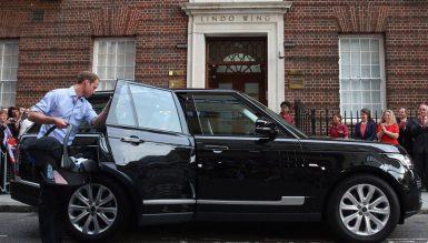 Принц Уильям продает свой Range Rover