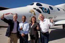 Компания Virgin Galactic отправит туристов в космос с территории Великобритани.