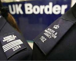 Офицеры Пограничного Агентства Великобритании арестовали жениха и невесту.