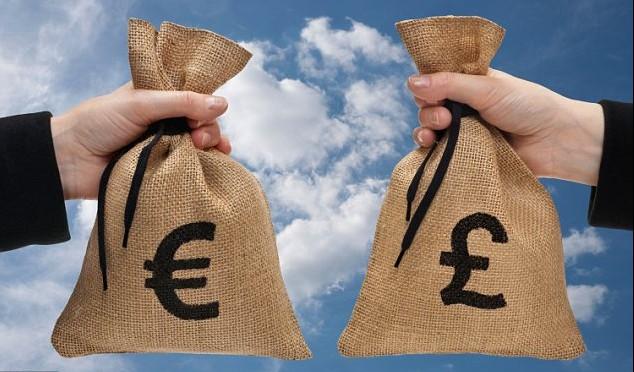 Как выгодно обменять фунты на евро.