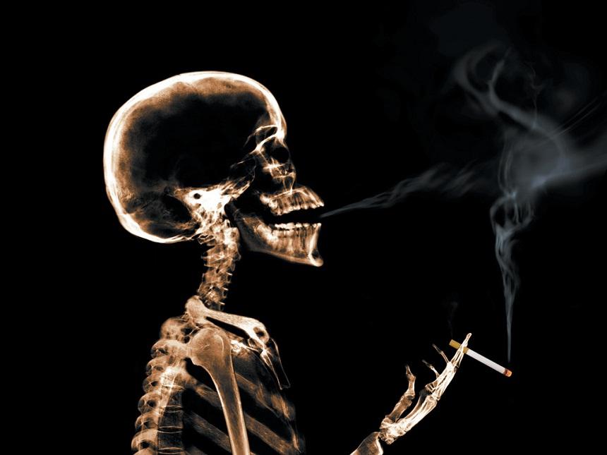 Пассивное курение приводит к слабоумию.
