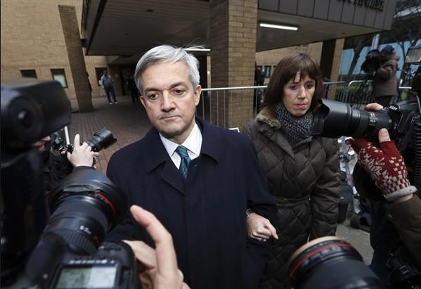 Первый день в тюрьме бывшего английского министра.