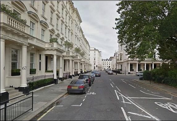 Как бесплатно снять в аренду дом в центре Лондона.