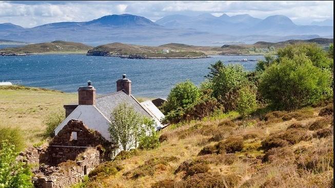 Недвижимость Великобритании. Остров выставлен на продажу.