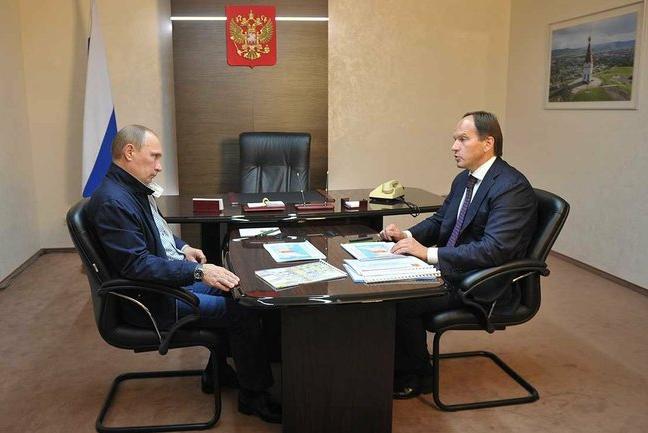 Красноярский губернатор Кузнецов ограблен на своей французской вилле