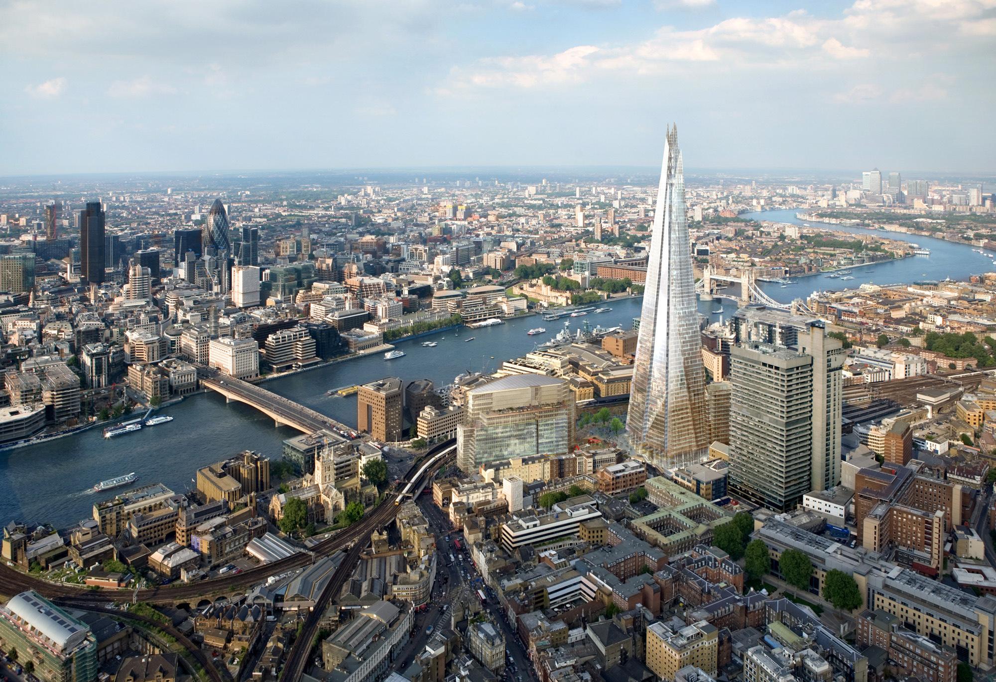 Бум цен и высотного строительства в Лондоне.