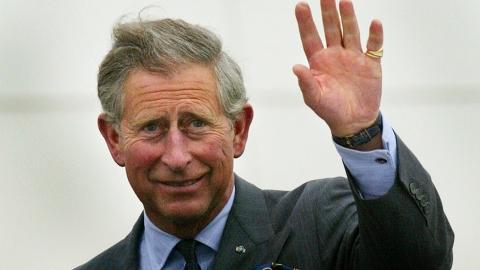 Принц Чарльз посетил затопленные деревни в Somerset.