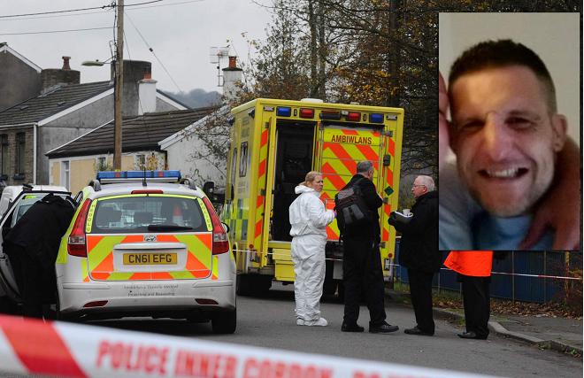 Полиция застрелила людоеда в 200 милях от Лондона.